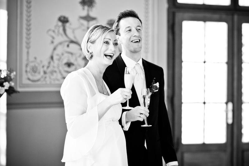 Brautpaar im Schloss Wackerbarth