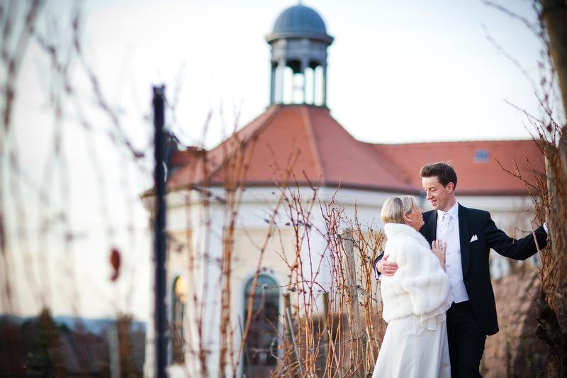 Hochzeitsfotograf in Schloss Wackerbarth Radebeul