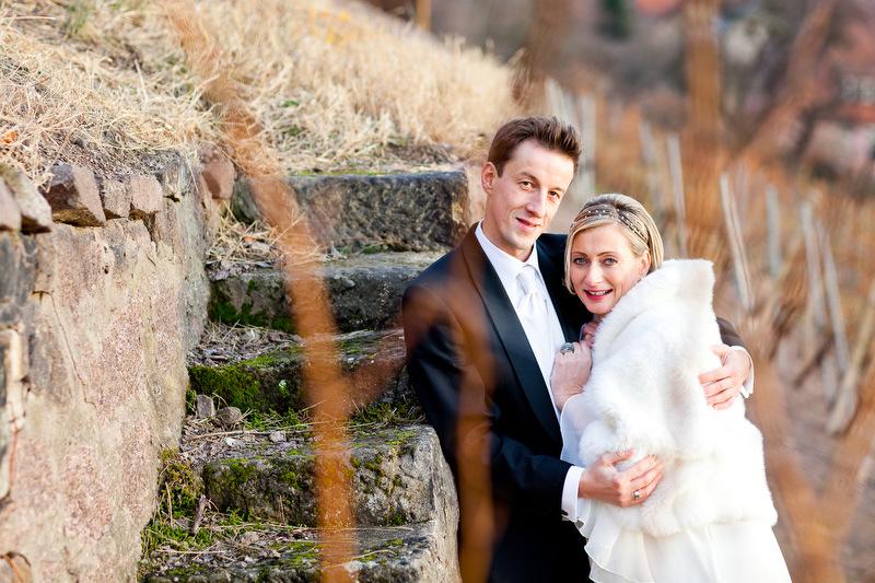 Hochzeitfotos im Weinberg